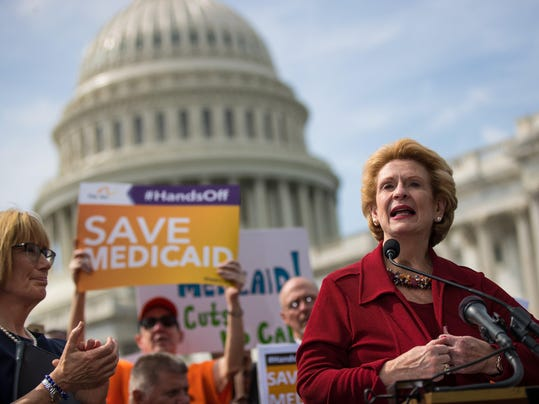Senate Democrats Hold News Conference Denouncing Graham-Cassidy Bill