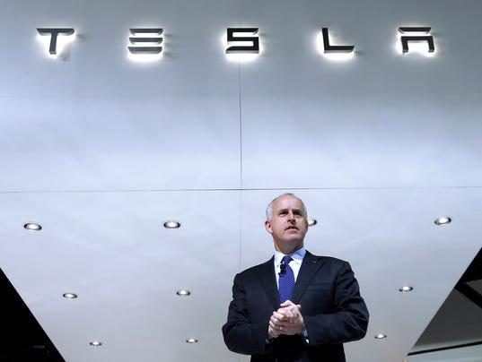 AP Earns Tesla