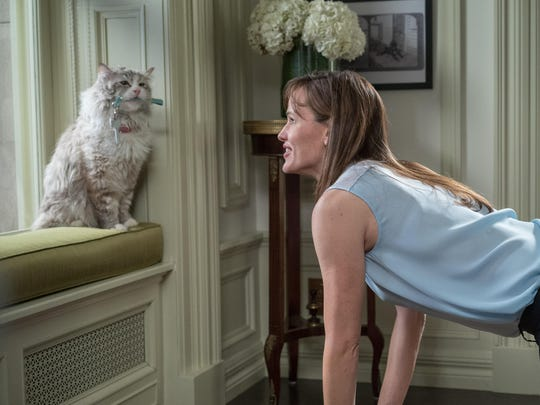 """Nine Lives"" is painfully awkward and misguided."