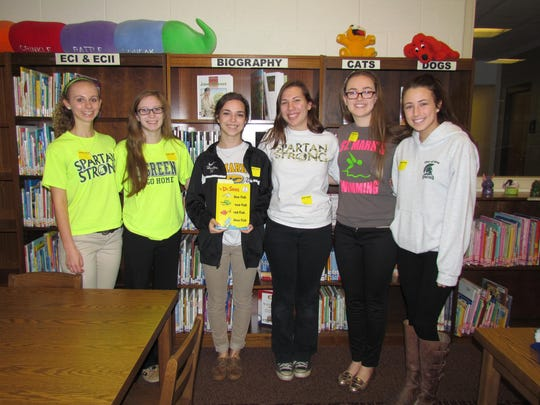 St. Mark's seniors in the Future Educator's Association recently visited The Independence School, leading students in learning activities.