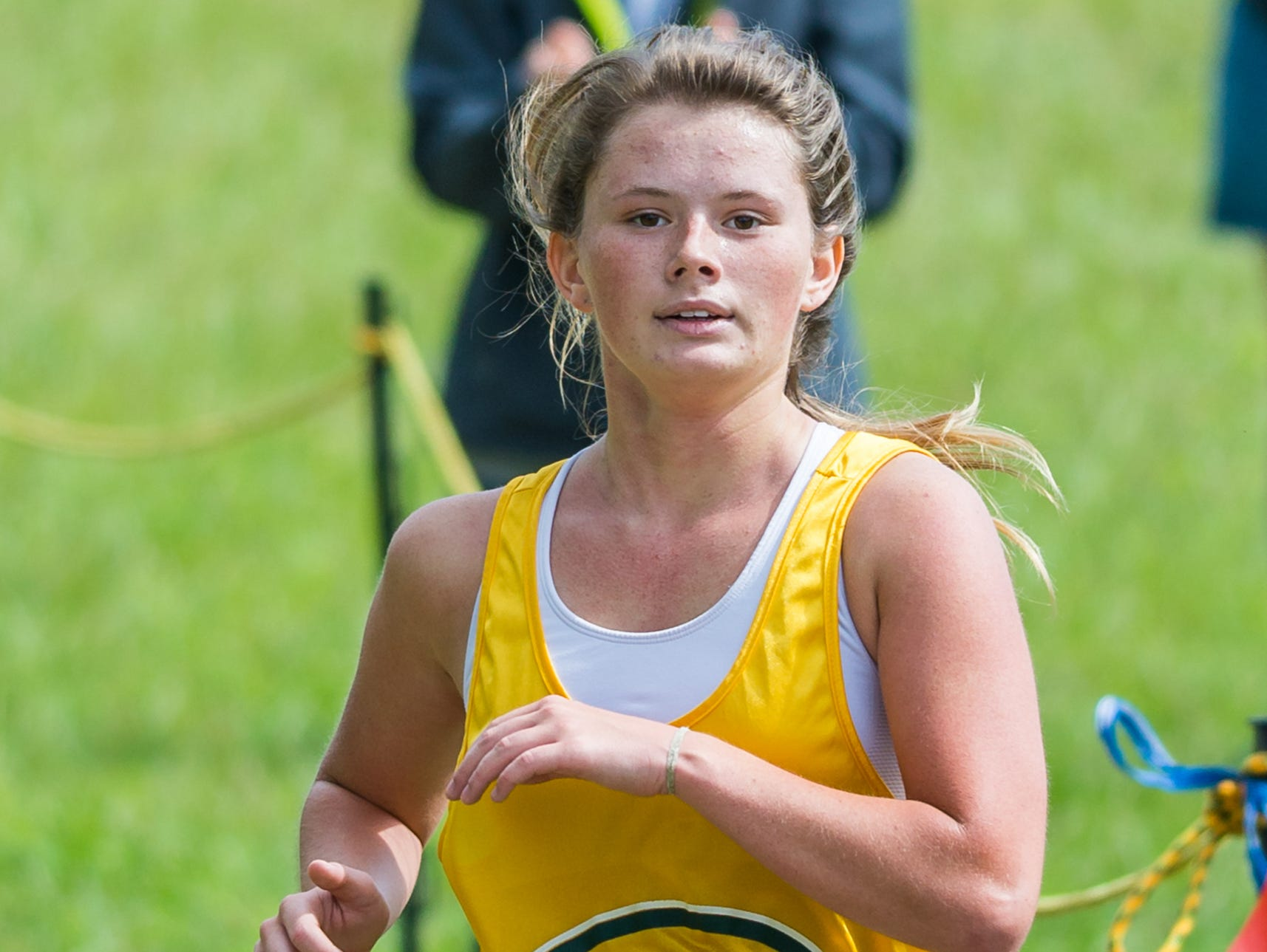 Gallatin High senior Savannah Davis finished 27th in Saturday's Beech Invitational cross country meet.