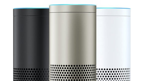 The new Amazon Echo Plus.