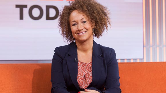 Former NAACP leader Rachel Dolezal (Anthony Quintano/NBC News via AP)