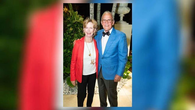 Susan and Peter Gottsegen at the Palm Beach Symphony kickoff reception in December.