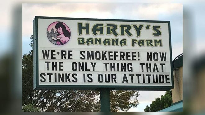 Harry's Banana Farm was opened in 1954 at the same location in Lake Worth Beach where it stands today