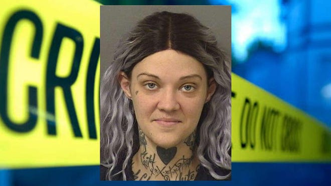 Authorities arrested Breanna Hunter on a carjacking charge on Friday, Jan. 24, 2020.