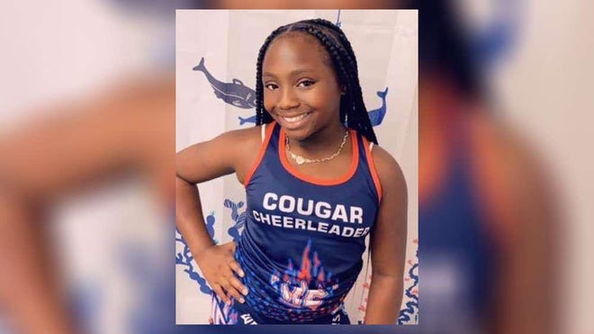 Re'Asia Washington was an honor student at Everglades Elementary School in suburban West Palm Beach. She died from an asthma attack Jan. 22.