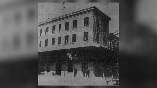 The three-story Palms Hotel John Stowers built housed West Palm Beach's second post office. Stowers ran the first operation out of a tent, which will have opened 126 years ago on April 17.
