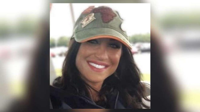 Danielle Hedrick DiCenso, a Wellington nurse whose death Thursday has been linked to coronavirus.