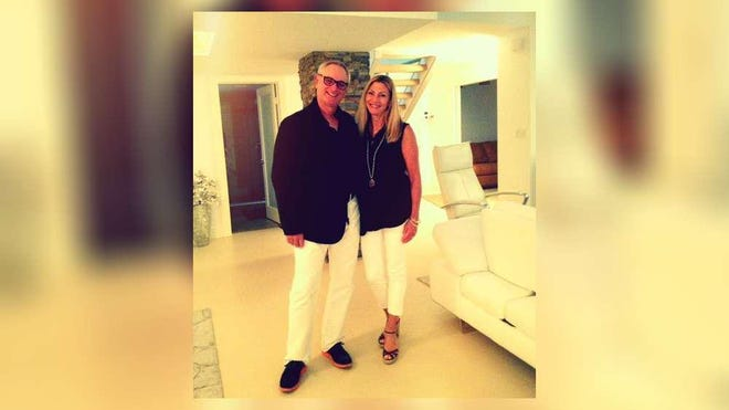 Richard Retblatt, a retired garment industry executive, with his wife Mindy. They retired to Boca West Country Club, where he came down with the coronavirus.