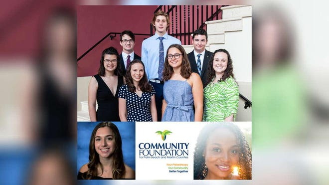Dozens of local students have received more than $1 million in scholarship money through The Community Foundation for Palm Beach and Martin Counties. The money will be used toward college expenses.