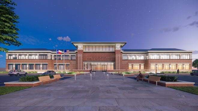 Kyle city officials are starting a series of virtual meetings to speak to residents about a $37 million bond project for a new public safety center. The image above shows what the new center could look like when completed.