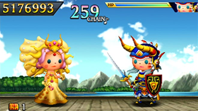 """""""Theatrhythm Final Fantasy Curtain Call"""" will be released Sept. 16, 2014, on 3DS."""