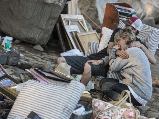 Rescue efforts continue in Montecito as community reels from deadly mudslide