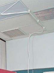 An example of the drainage system used in a West Milford school as seen on a board members website