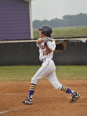LSUA's Paulean Gonzalez went 1-for-2 with an RBI Monday.