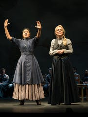 """Alexandria Wailes (left) and Jane Kaczmarek in """"Our Town"""" at the Pasadena Playhouse last year."""