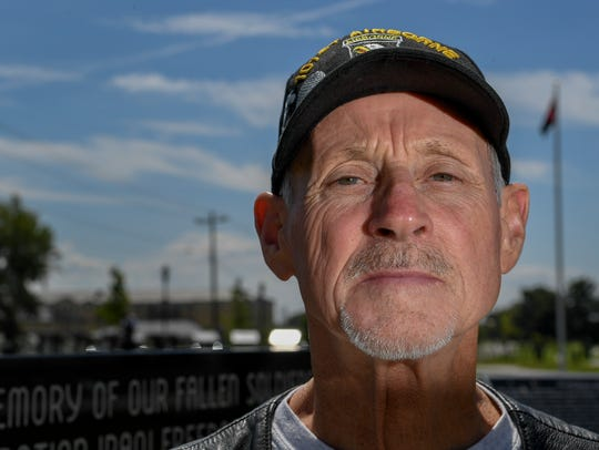 Retired Staff Sergeant Dale Scott Kirby poses for a
