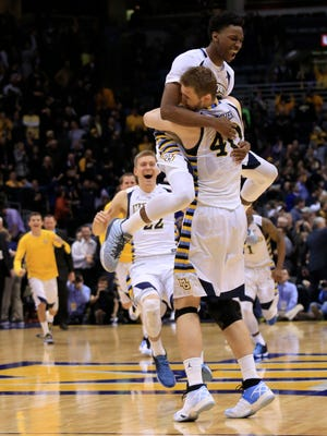 The last time Marquette hosted Georgetown, Luke Fischer sank a pair of free throws in the final seconds to give the Golden Eagles a win. The two team will face off to open Big East play.
