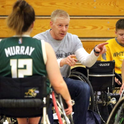 Rolling with the challenges: Whitnall's Steve Wilson ses wheelchair basketball as learning tool