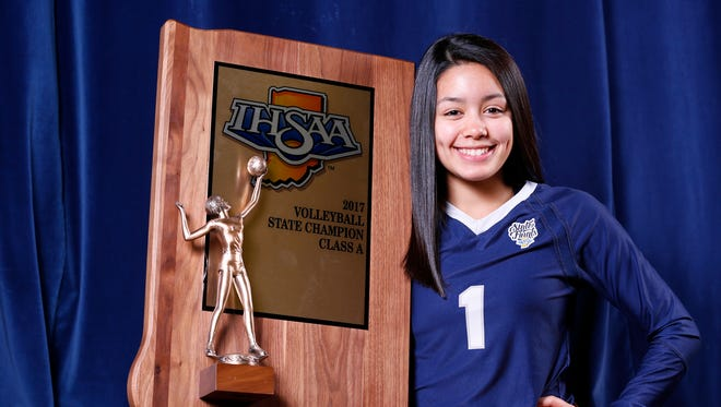Sami Royer of Central Catholic is the 2017 Journal & Courier Volleyball Player of the Year.