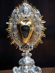 The heart of St. John Berchmans, which will be in Shreveport Dec. 8 until Dec. 18.