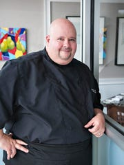 Chef Scott Giordano, owner of The Poached Pear Bistro,