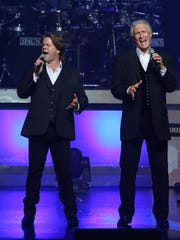 Bucky Heard and Bill Medley perform as the Righteous Brothers.
