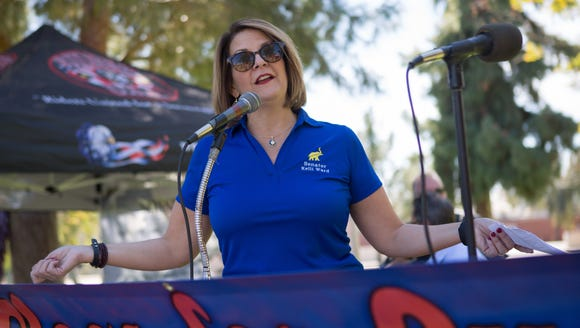 Kelli Ward, a former state senator challenging incumbent