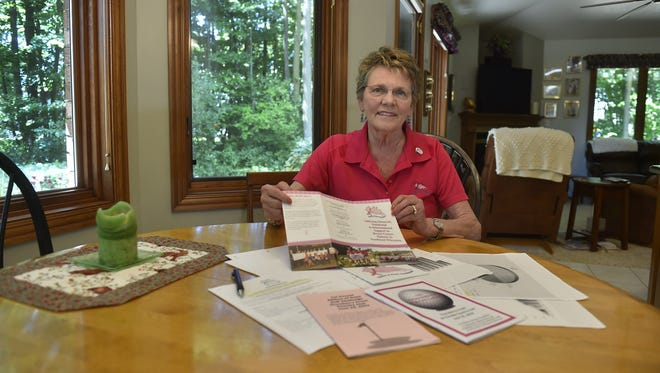 Linda Rueckl of Luxemburg helped launch Ribbon of Hope, a breast cancer support group, on a kitchen table 15 years ago. Today the financial, informational and emotional support group is a $2.5 million organization helping people who are being treated for breast cancer in Brown and Kewaunee counties.