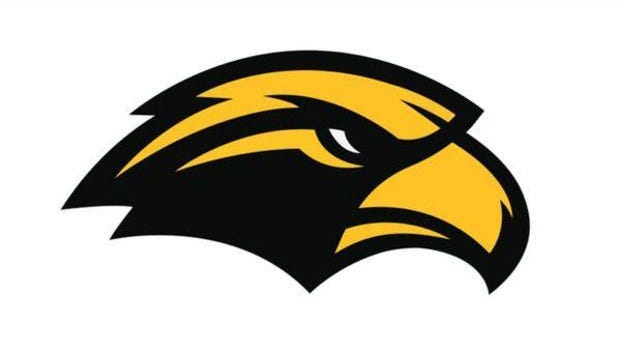 New Southern Miss Golden Eagle logo