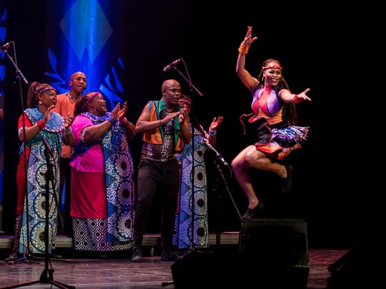 The Soweto Gospel Choir will be touring through East