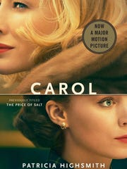 """The front cover of the book """"Carol"""" which is now a major motion picture."""