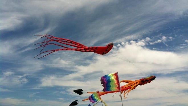Take to one of Lafayette's open spaces to fly kites, play games and more.