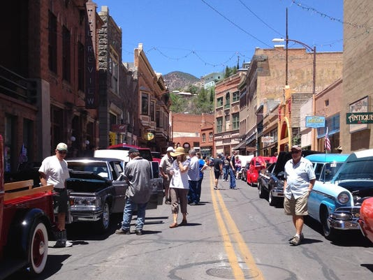 Bisbee Classiccar Show Farmers Market - Market street car show