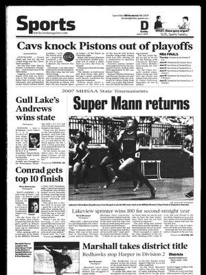 Battle Creek Sports History - Week of June 3, 2007