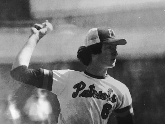 Rich Allen threw a 14-inning shutout for Freehold Township on May 7, 1977.