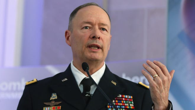 U.S. Army Gen. Keith Alexander, director of the National Security Agency and commander of U.S. Cyber Command.