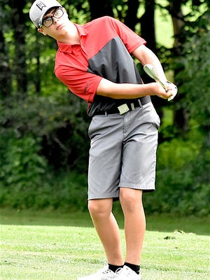 Sandy Valley's Connor Ritter won the Tournament of Champions with a two-day total of 150.
