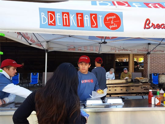 Guys & Gals Breakfast at the Downtown Market features