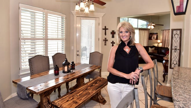 Kelly Elliott was her own interior designer during the home renovation project.