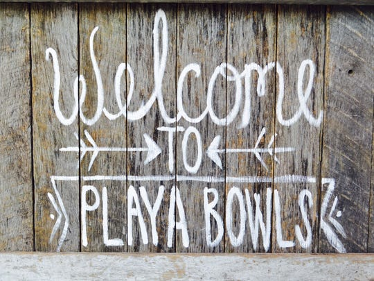 Stop by Playa Bowls, 88 Ocean Ave. in Pier Village during your trip.