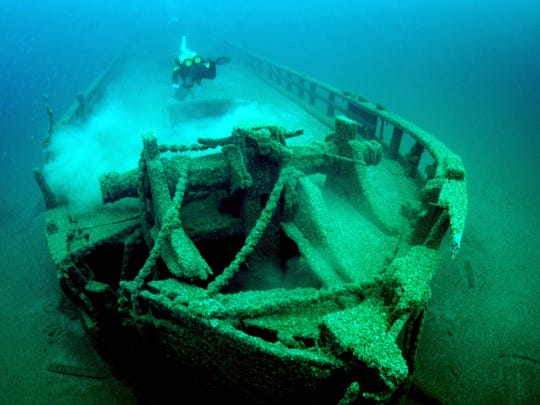 The schooner Home, built in 1843, is one of the oldest shipwrecks discovered in Wisconsin.