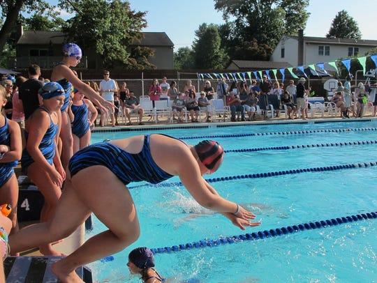 Silver Side Swim Club swam to their 100th consecutive
