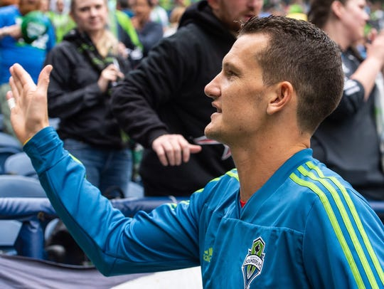 Former Kitsap Pumas goalkeeper Zac Lubin spent four days with the Seattle Sounders on loan from Phoenix Rising in the United Soccer League.
