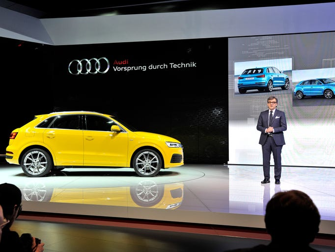Luca de Meo, Audi board member for sales and marketing,