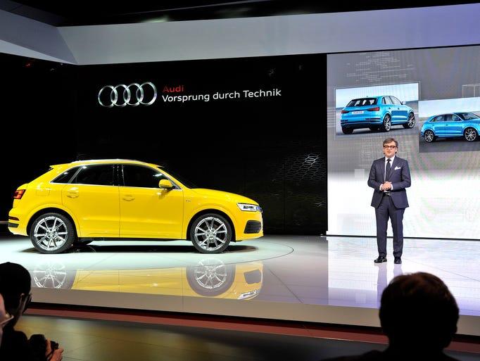 Luca de Meo, Audi board member for sales and marketing,