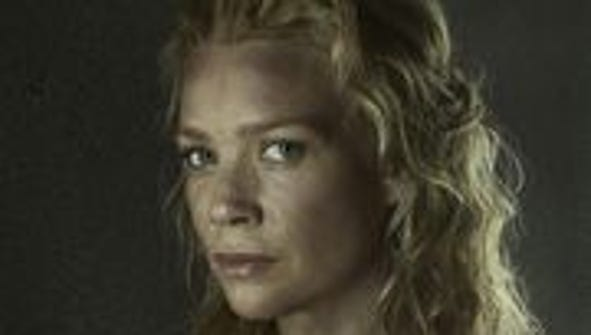 "Laurie Holden from ""The Walking Dead"" will make an"