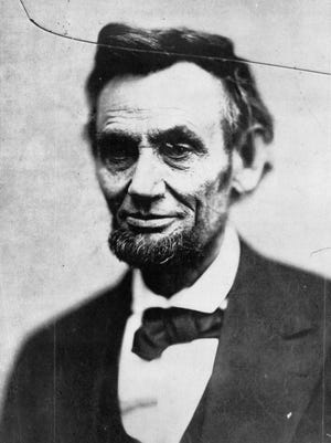 This image of President Abraham Lincoln is last photo in the president's last photo session during his life. It was taken Feb. 5, 1865. He died 10 days later.