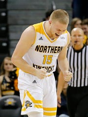 Tyler Sharpe averages 12 points per game for NKU.